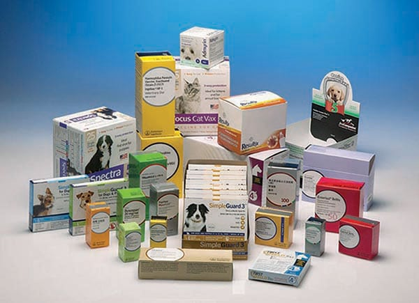 Animal healthcare product packaging service