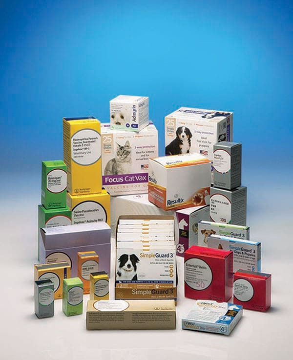 Animal healthcare carton service