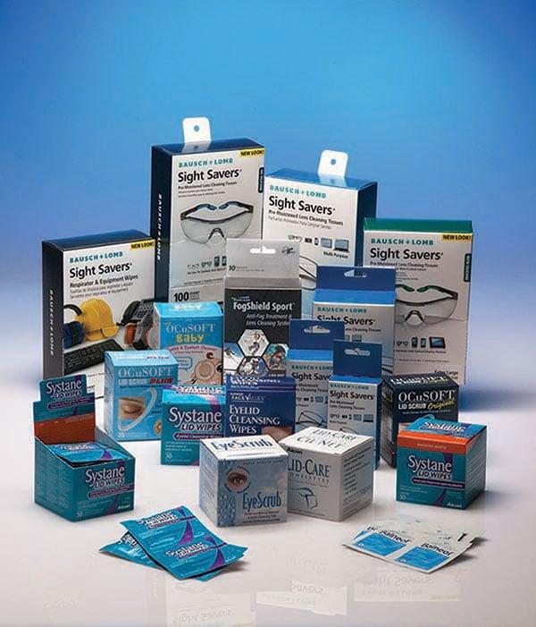 Eyecare carton services