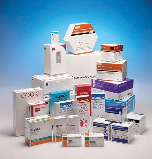 Medical Device carton services